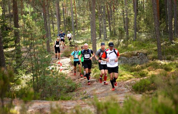 Tunnelma ja olosuhteet olivat huipussaan kolmannessa Nuuksio Classicissa 6.9.2014. Kuva: Salla Lyytinen