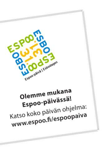 Nuuksio Classic mukana Espoo-päivässä 31.8.2013.