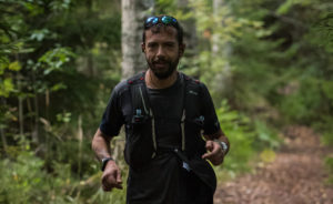 Greek ultrarunner, Dimitrios Kanellopoulos, first time in Nuuksio Classic
