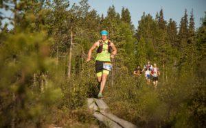 Kovia nimiä Nuuksio70 Trail Ultran listoilla